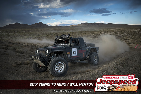 2017 Vegas to Reno Will Heaton