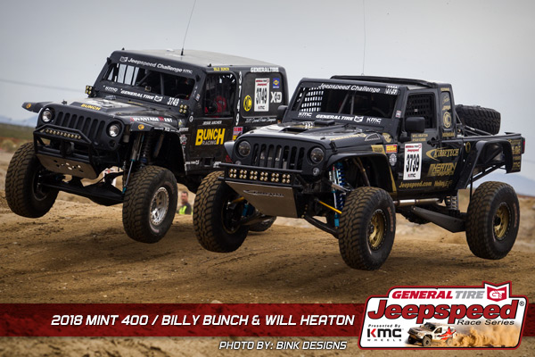 2018 Mint 400 Will Heaton