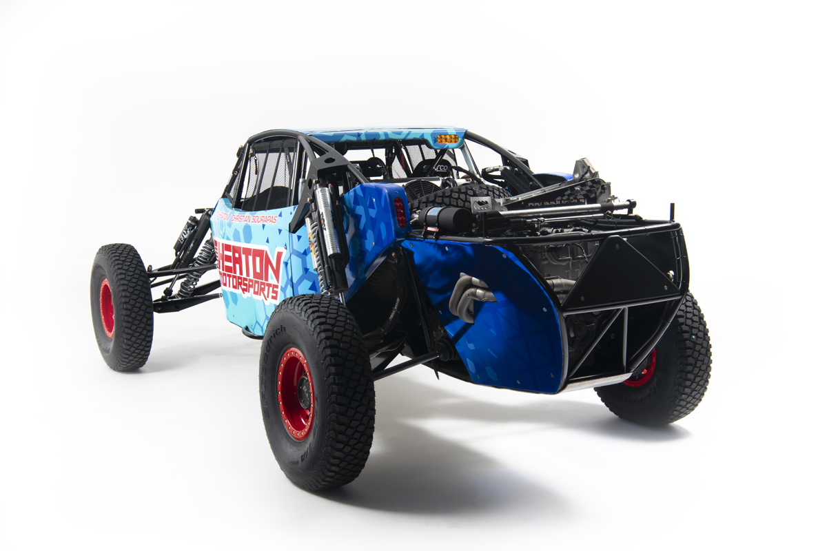 Heaton Motorsports Race Jeep